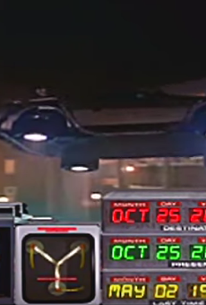 Go back in time to 2007 by watching this POV footage of Back to the Future: The Ride at Universal Studios