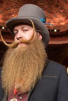 Local bartender wins National Beard and Moustache Competition