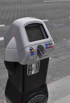 Some of Orlando's parking meters may have a glitch that causes them to zero out