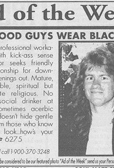 Orlando Weekly's personals section wasn't always what it seemed to be