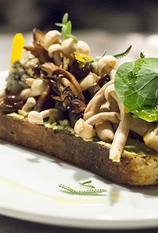 The mushroom tartine served at Baldwin Park's Osprey Tavern.