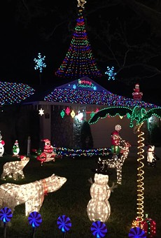 Use this map to find the best Christmas lights displays in Orlando