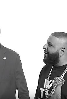 Watch DJ Khaled try to inspire Jeb Bush