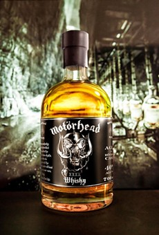 The Motörhead commemorative 40th anniversary bottle