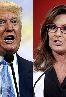This headline tells you all you need to know: Sarah Palin endorsed Donald Trump