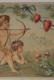 Show your Valentine you know how to plan ahead at Audubon Park's Vintage Valentine sale on Sunday