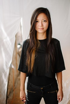 """Pianist Vicky Chow plays Tristan Perich's """"Surface Image"""" Saturday night."""