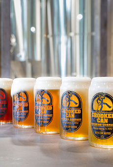 Morimoto Asia teams with Crooked Can Brewery for pairing dinner Thursday, March 3