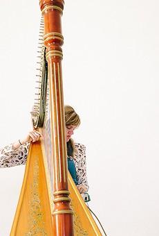 Avant-harpist Mary Lattimore hits the open road with Messthetics