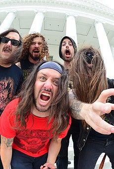 Thrash supergroup Iron Reagan brings speed and anger to Will's Pub