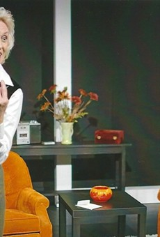 Carol Adams in 'Blonde Poison' at the Orlando Fringe