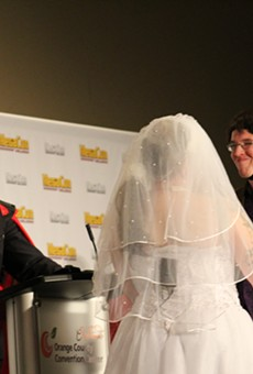 I attended a wedding at MegaCon and it was as awesome as you'd think