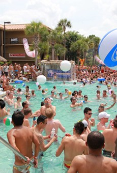 Gay Days Pool Parties, Wednesday-Sunday at the DoubleTree by Hilton at SeaWorld