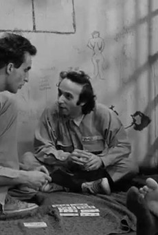 John Lurie, Tom Waits and Roberto Benigni in Down By Law