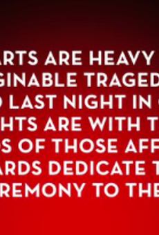 Tony Awards dedicate tonight's ceremony to Orlando victims