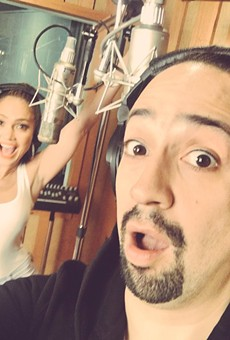 "J-Lo and Lin-Manuel Miranda release ""Love Make the World Go Round"" single to benefit Pulse victims"