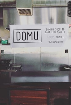 East End Market gets mysterious new tenant Domu, the Petrakis set to open up a new eatery at Disney Springs, plus more in local foodie news