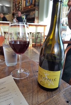 Drink this now: Unfiltered French beaujolais at the Strand