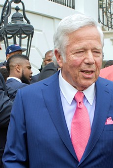 New England Patriots owner Robert Kraft fights Florida's public records law in order to suppress handie video