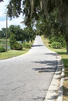 Central Florida's Spook Hill is getting added to the National Register of Historic Places