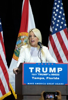 Trump fined by the IRS for contribution to Florida AG Pam Bondi