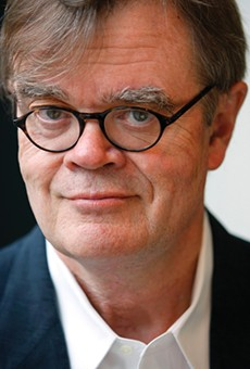 NPR veteran Garrison Keillor gives hope to English majors at Rollins College