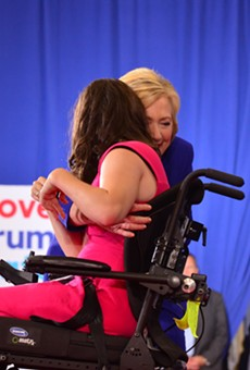 Hillary Clinton argues for continued focus on people with disabilities at Orlando rally