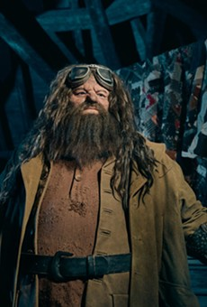 Universal Orlando unveils first look at Hagrid in 'Magical Creatures Motorbike Adventure' coaster