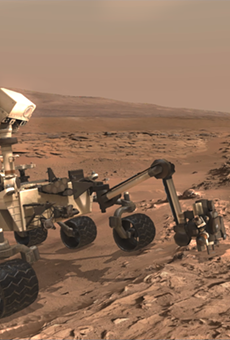 Guests at Kennedy Space Center can now explore Mars just like NASA scientists do, via HoloLens