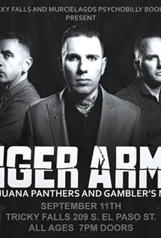 Psychobilly outfit Tiger Army to throw down at the Social tonight