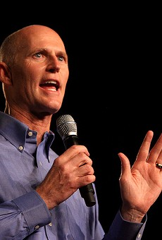 Rick Scott hints at changes to voter registration law