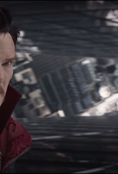 Sneak peek of 'Doctor Strange' now playing at Disney parks