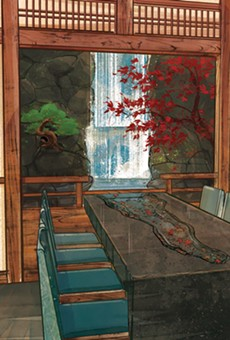 The Water Room at Epcot's Takumi-Tei
