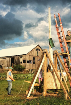 Punkin chunkin' is hands down the gnarliest fall tradition ever