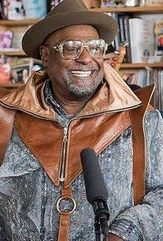 George Clinton & Parliament-Funkadelic playing NPR's Tiny Desk