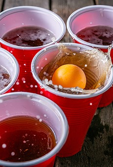 Dust off your drinking game skills to compete in Beer Olympics at Barley & Vine