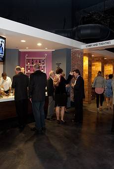 Silent auctions at Mad Cow Theatre in downtown Orlando held over