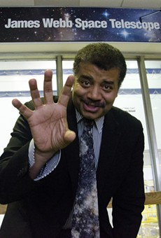 Neil deGrasse Tyson brings his cosmic thoughts to Dr. Phillips