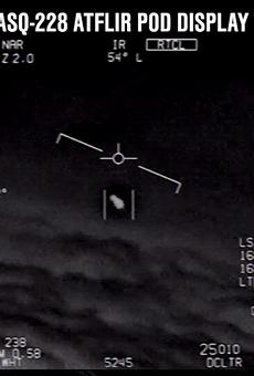 Navy pilots report UFO sightings in airspace between Florida and Virginia