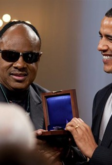 Stevie Wonder will join Obama at Kissimmee rally this Sunday