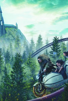 The rumored costly reason why Universal's new Hagrid coaster hasn't seen the typical soft openings (2)