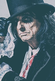 Shock-rock icon Alice Cooper is headed back to Orlando this fall