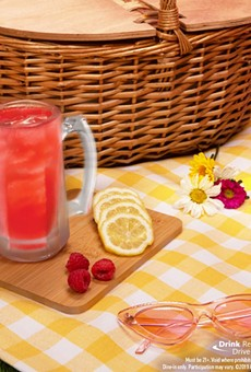 Orlando-area Applebee's restaurants are pouring $1 vodka raspberry lemonades all month