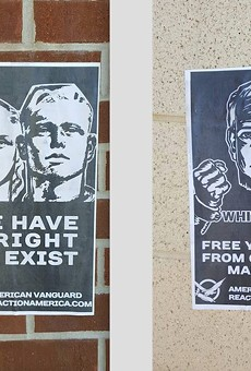 White supremacist fliers posted around UCF campus