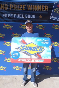 Riley Bass, of Belle Isle, won $5,000 of free gas from Sunoco.