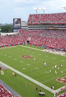 Raymond James Stadium in Tampa