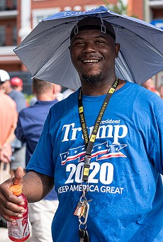 Orlando Trump fever: Photos from inside the Trump 2020 rally, outside the Amway Center, and at the Win With Love protest