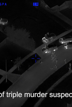 Orlando Police release aerial video of Markeith Loyd's arrest