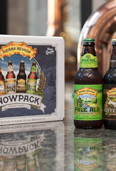 If you recently bought Sierra Nevada in Florida it might have broken glass in it