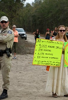 The Sabal Trail pipeline is a 'done deal,' and now Central Floridians begin to realize  what's about to come through their backyards
